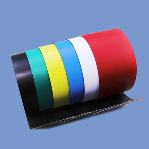 0.85mm X 50mm Flexible Magnetic Sheet Roll With Printable PVC
