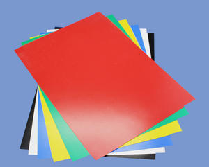 0.5mm X 210mm X 297mm Flexible Magnetic Sheet Roll With Red PVC