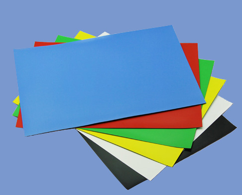 0.5mm X A4 size High Quality Magnetic Sheet Roll With Blue PVC