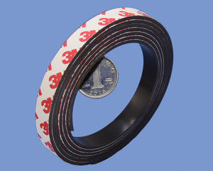 2mm Thick Magnetic Strip With 3M High Quality Rubber Magnet