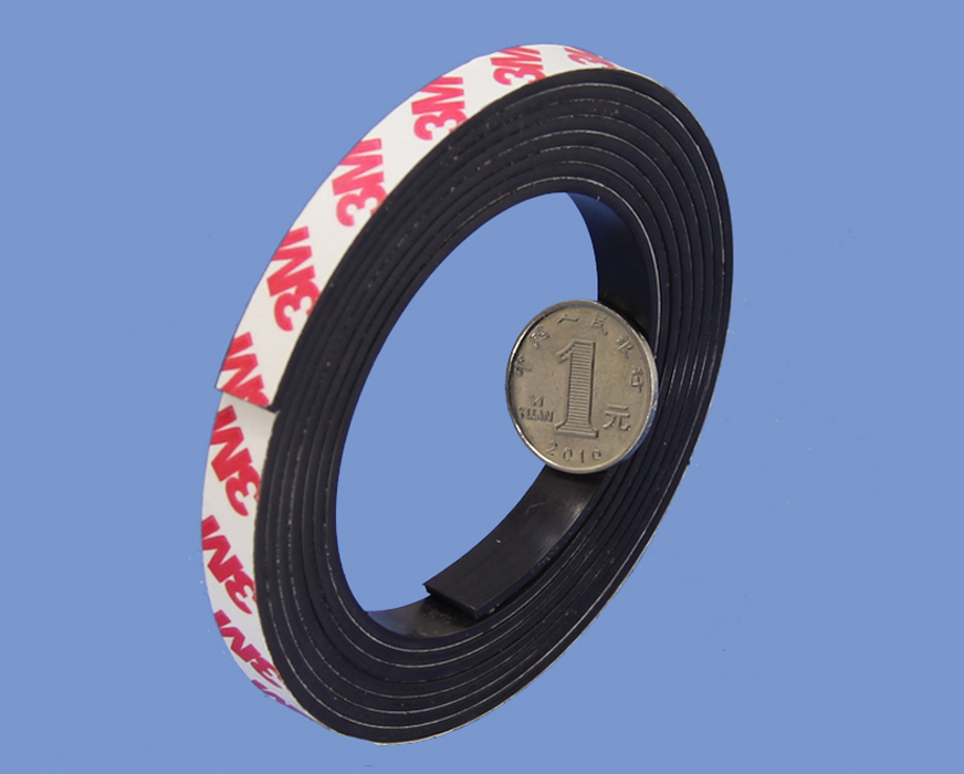 2mm X 10mm Magnetic Strip with High Quality Magnet Shop 3M 9448 Adhesive