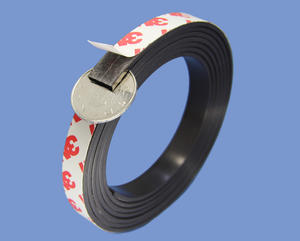 2mm X 12mm Magnetic Bar Magnetic Strip With High Quality 3M 9448 Adhesive