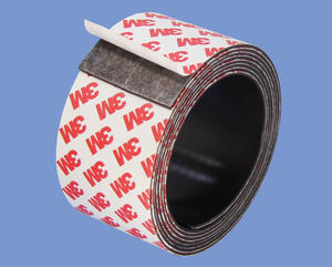 Strong China Powerful Magnets Magnetic Tape 1.5mm X 50mm With 3M Adhesive