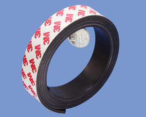 Strong China Magnetic Materials Tape 3mm X 25mm With 3M Adhesive