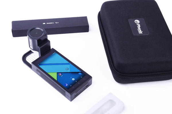 Intelligent portable digital microscope