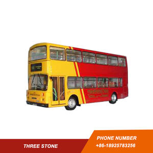 Customized miniature bus models agency