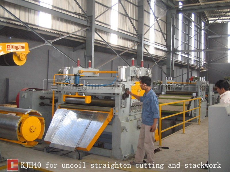 KJHS series cutting line with slitting machine