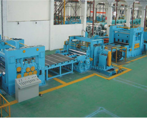 KJH25 Heavy plate steel cut to length line