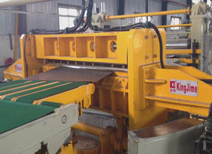 swinging shear cutting line