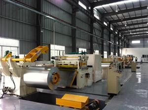 Steel Coil Straightener & Cutting Machine