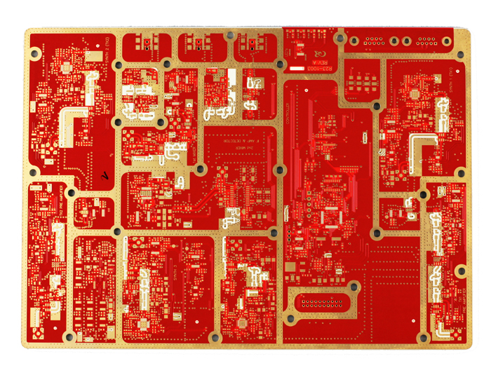 Hybrid High-Frequency Multilayer PCB design—4L