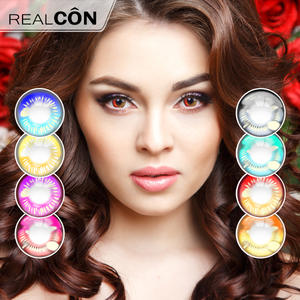 Realcon Cosmetic Color Coscon Wholesale Crazy Contact Lens Supplier