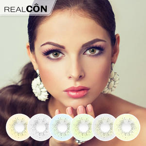 Realcon Disposable Contact Lenses Natural Ocean Soft Lenses Exporter