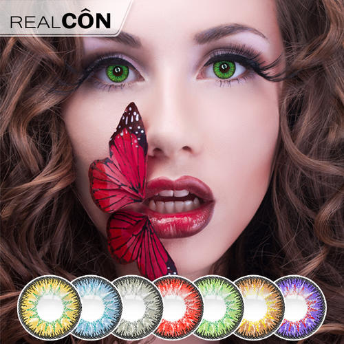 Realcon Color Cosmetic Contact Lens Candy Vision Lens Manufacturer