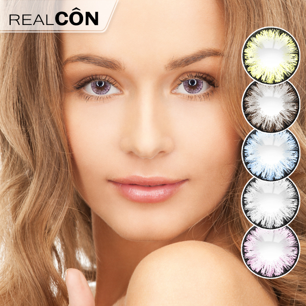 Realcon Wholesale Tri Color Color Contact Lens Importers