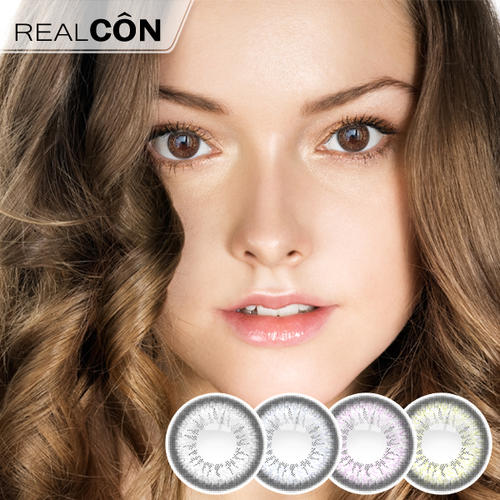 Realcon Fancy Eyes Contact Lens Shining Pearl Stars Lens Factory