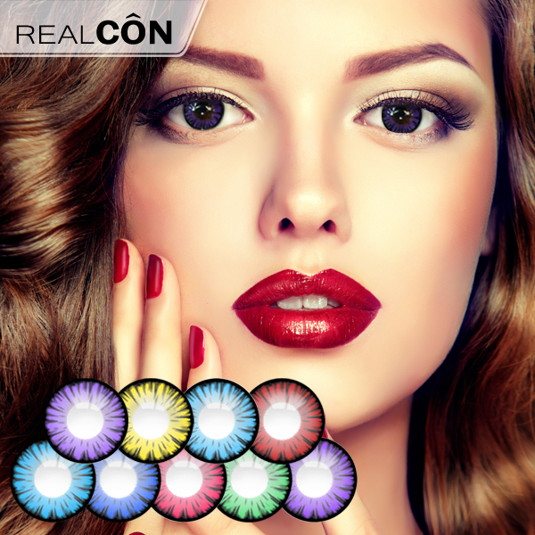 Wholesale Color Lenses For Eyes Miracle Times Colour Contact Lenses Exporter