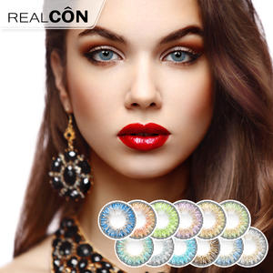 Realcon Cosmetic Lenses New 3 Tone Lenses Supplier