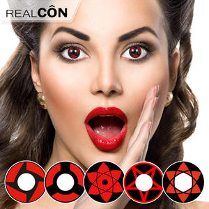 Wholesale 3 Tone Color Contact Lens Sharingan Lenses Contacts Exporter