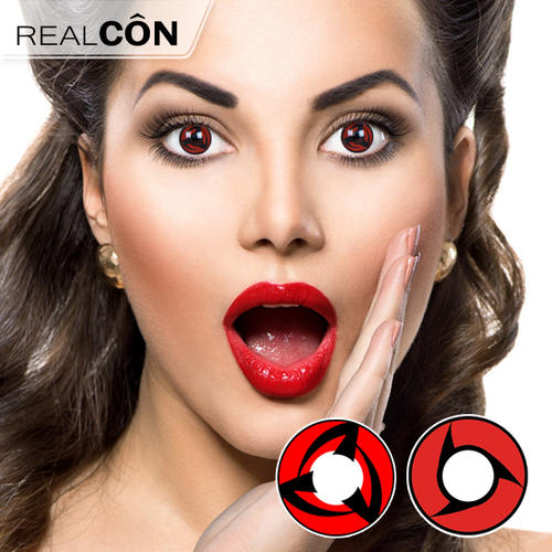 China Sharingan Colour Contacts Bloody Contact Lenses Supplier