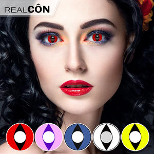 Realcon Color Lens Contact Cat Eye Contact Lenses Factory