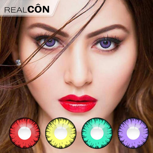 Realcon Cosmetic Contact Lenses Wholesale Splendid Eyes Contact Lens Supplier