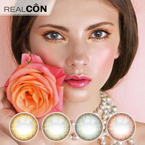 Realcon Twinkling Soft Lenses Color Contact Lens Manufacturer