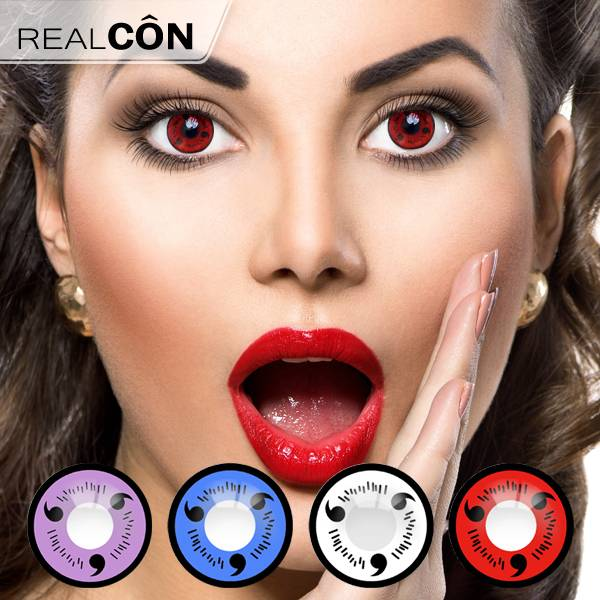 Realcon Sharingan Contact Lenses 3-Magatama Lenses Manufacturer