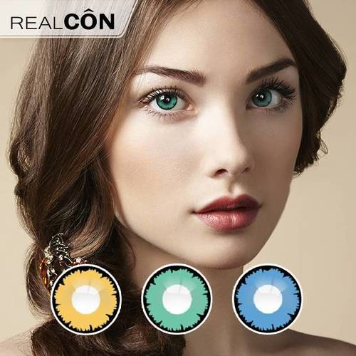 Realcon Wholesale Classical Dividing Ruler Contact Lens For Sales Factory