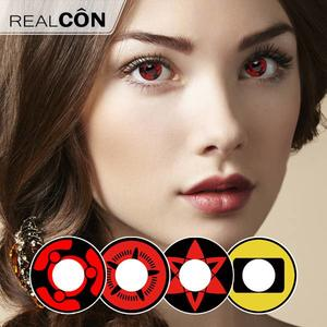 Realcon Wholesale Hexagram Contact Eye Color Lenses Supplier