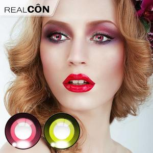 Realcon Cosmetic Color Lenses Cartoon Pupil Gorgeous Lens Manufacturer