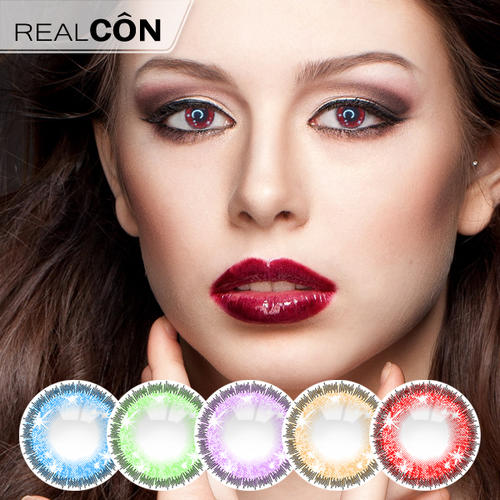 Realcon Sweety Contact Lenses Colored Big Eyes Lenses Supplier