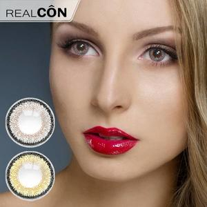 Realcon Wholesale Floral Beauty Natural Eyes Colored Contact Lenses Supplier