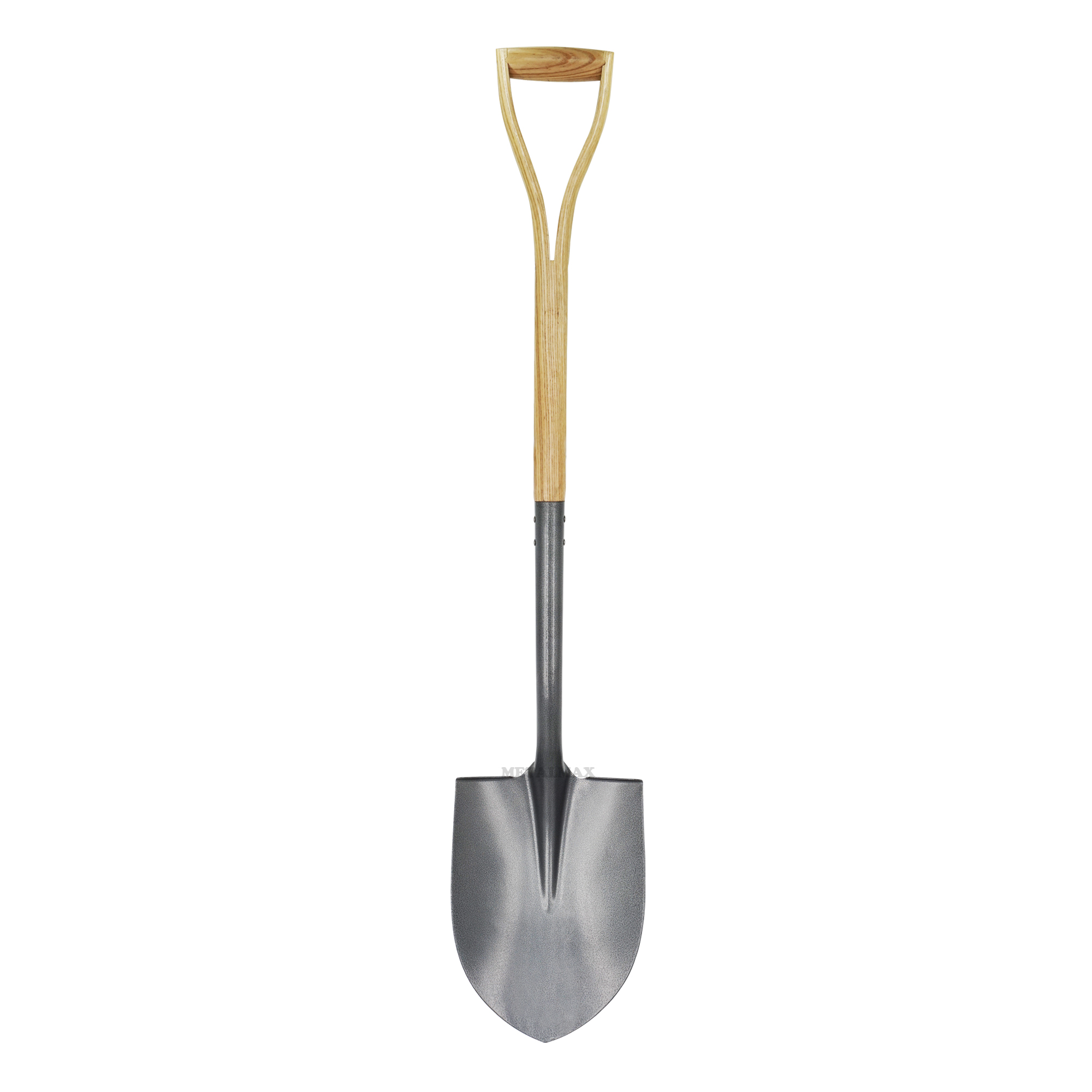 Carbon Steel Round Nose Point Tip Shovel