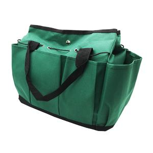 Tote canvas garden tool bag