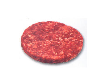 Minced beef patty