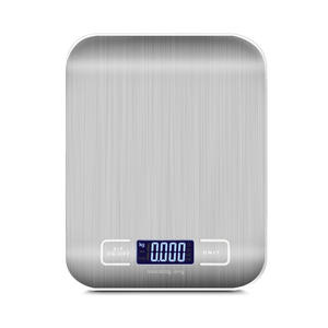Household Data Lock Stainless Steel Kitchen Scale