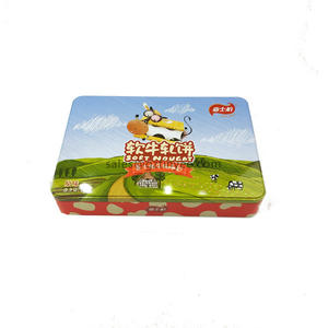 China professional biscuit tin box supplier