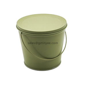 candle tin bucket
