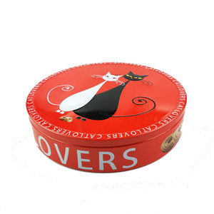 biscuit tin packaging round