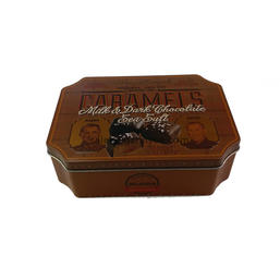 chocolate tin container