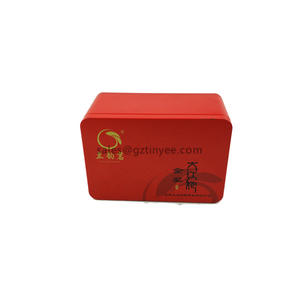 China decorative tea tins manufacturer