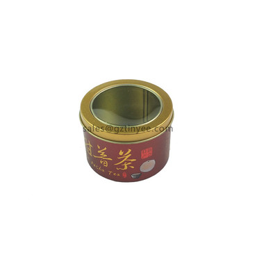 tin tea canisters