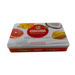 rectangle biscuit tin packaging