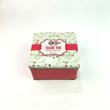 small cookie tin box