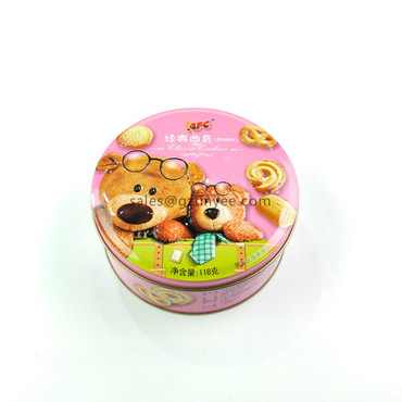 small cookie tin