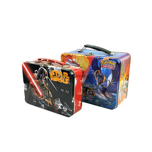 China professional gift lunch tin box supplier