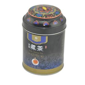 China Tibetan tea tin can