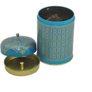 individuation tea tin caddy