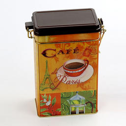 cafe tin box